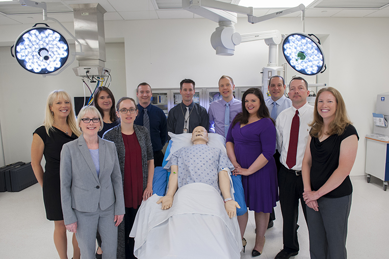 The Center for Human Simulation and Patient Safety team
