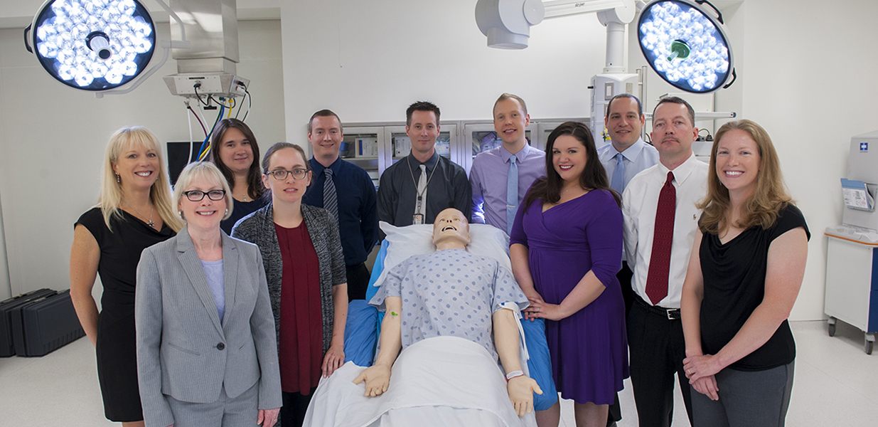 Center for Human Simulation and Patient Safety team photo